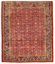 Hamadan Vloerkleed 165X200 Echt Oosters Handgeknoopt Roestkleur (Wol, Perzië/Iran)