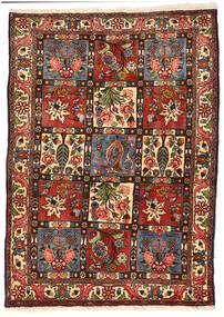Bakhtiar Collectible Vloerkleed 114X158 Echt Oosters Handgeknoopt Zwart/Donkergroen (Wol, Perzië/Iran)