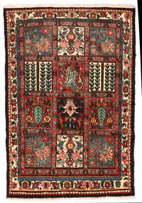Bakhtiar Collectible Vloerkleed 105X152 Echt Oosters Handgeknoopt Zwart/Donkergrijs (Wol, Perzië/Iran)