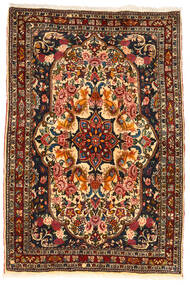 Bakhtiar Collectible Vloerkleed 110X165 Echt Oosters Handgeknoopt Donkerbruin/Donkerrood (Wol, Perzië/Iran)