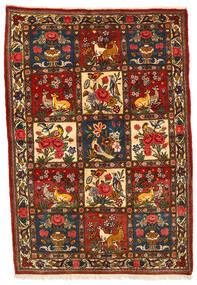 Bakhtiar Collectible Vloerkleed 108X158 Echt Oosters Handgeknoopt Zwart/Donkerbruin (Wol, Perzië/Iran)
