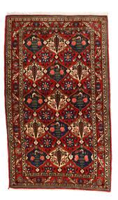 Bakhtiar Collectible Vloerkleed 115X155 Echt Oosters Handgeknoopt Zwart/Roestkleur (Wol, Perzië/Iran)