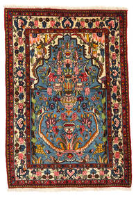 Bakhtiar Collectible Vloerkleed 104X152 Echt Oosters Handgeknoopt Donkerbruin/Donkerrood (Wol, Perzië/Iran)