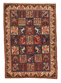 Bakhtiar Collectible Vloerkleed 108X152 Echt Oosters Handgeknoopt Donkerbruin/Zwart (Wol, Perzië/Iran)