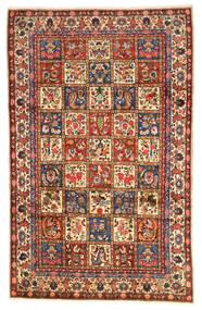 Bakhtiar Collectible Vloerkleed 203X323 Echt Oosters Handgeknoopt Donkerrood/Zwart (Wol, Perzië/Iran)
