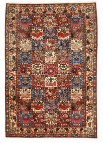 Bakhtiar Collectible Vloerkleed 205X300 Echt Oosters Handgeknoopt Donkerbruin (Wol, Perzië/Iran)