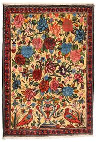 Bakhtiar Collectible Vloerkleed 107X154 Echt Oosters Handgeknoopt Donkerbeige/Rood (Wol, Perzië/Iran)