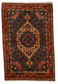 Bakhtiar Collectible Vloerkleed 107X160 Echt Oosters Handgeknoopt Donkerbruin/Donkerrood (Wol, Perzië/Iran)