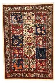 Bakhtiar Collectible Vloerkleed 100X148 Echt Oosters Handgeknoopt Zwart/Donkerrood (Wol, Perzië/Iran)