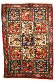 Bakhtiar Collectible Vloerkleed 102X154 Echt Oosters Handgeknoopt Donkerbruin/Rood (Wol, Perzië/Iran)