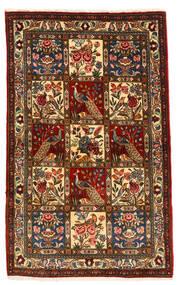 Bakhtiar Collectible Vloerkleed 105X168 Echt Oosters Handgeknoopt Donkerbruin/Donkerrood (Wol, Perzië/Iran)