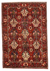 Bakhtiar Collectible Vloerkleed 207X307 Echt Oosters Handgeknoopt Donkerbruin/Roestkleur/Donkerrood (Wol, Perzië/Iran)