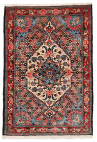 Bakhtiar Collectible Vloerkleed 108X157 Echt Oosters Handgeknoopt Donkerbruin/Donkerrood (Wol, Perzië/Iran)