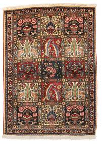 Bakhtiar Collectible Vloerkleed 109X152 Echt Oosters Handgeknoopt Donkerbruin/Beige (Wol, Perzië/Iran)