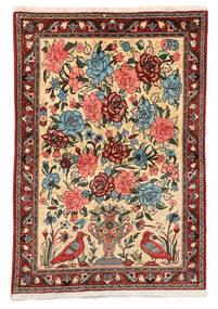 Bakhtiar Collectible Vloerkleed 106X152 Echt Oosters Handgeknoopt Donkerbruin/Donkerrood (Wol, Perzië/Iran)