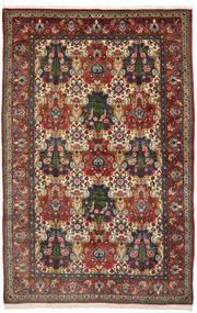 Bakhtiar Collectible Vloerkleed 150X240 Echt Oosters Handgeknoopt Donkerbruin/Lichtbruin (Wol, Perzië/Iran)