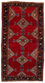 Koliai Vloerkleed 160X303 Echt Oosters Handgeknoopt Tapijtloper Donkerrood/Rood (Wol, Perzië/Iran)