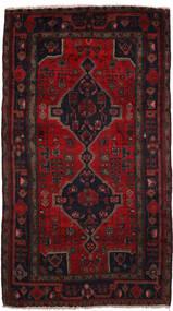 Koliai Vloerkleed 150X280 Echt Oosters Handgeknoopt Zwart/Donkerrood (Wol, Perzië/Iran)