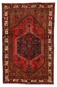 Zanjan Vloerkleed 122X192 Echt Oosters Handgeknoopt Donkerbruin/Roestkleur (Wol, Perzië/Iran)
