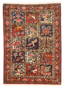Bakhtiar Collectible Vloerkleed 110X154 Echt Oosters Handgeknoopt Donkerbruin/Donkerrood (Wol, Perzië/Iran)