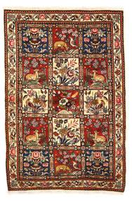 Bakhtiar Collectible Vloerkleed 115X170 Echt Oosters Handgeknoopt Donkerbruin/Wit/Creme (Wol, Perzië/Iran)