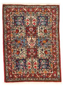 Bakhtiar Collectible Vloerkleed 105X140 Echt Oosters Handgeknoopt Donkerbruin/Beige (Wol, Perzië/Iran)