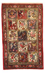 Bakhtiar Collectible Vloerkleed 108X171 Echt Oosters Handgeknoopt Donkerrood/Donkerbruin (Wol, Perzië/Iran)