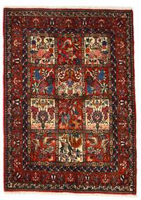 Bakhtiar Collectible Vloerkleed 106X150 Echt Oosters Handgeknoopt Donkerbruin/Donkerrood (Wol, Perzië/Iran)