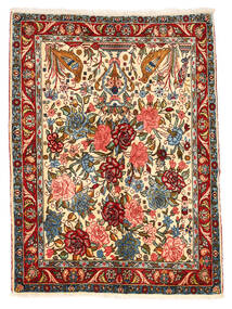 Bakhtiar Collectible Vloerkleed 101X148 Echt Oosters Handgeknoopt Donkergrijs/Rood (Wol, Perzië/Iran)