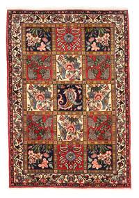 Bakhtiar Collectible Vloerkleed 110X152 Echt Oosters Handgeknoopt Donkerbruin/Zwart (Wol, Perzië/Iran)