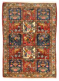 Bakhtiar Collectible Vloerkleed 115X155 Echt Oosters Handgeknoopt Donkerbruin/Rood (Wol, Perzië/Iran)