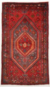 Zanjan Vloerkleed 128X220 Echt Oosters Handgeknoopt Donkerrood/Roestkleur (Wol, Perzië/Iran)