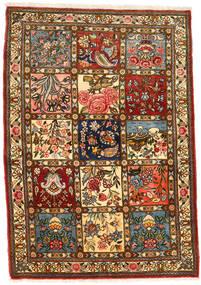 Bakhtiar Collectible Vloerkleed 111X158 Echt Oosters Handgeknoopt Donkerbruin/Bruin (Wol, Perzië/Iran)
