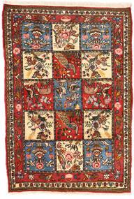 Bakhtiar Collectible Vloerkleed 102X152 Echt Oosters Handgeknoopt Donkerbruin/Beige (Wol, Perzië/Iran)