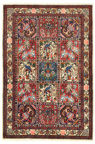 Bakhtiar Collectible Vloerkleed 106X158 Echt Oosters Handgeknoopt Donkerbruin/Donkerrood (Wol, Perzië/Iran)