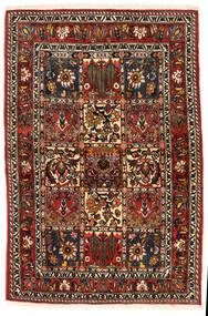 Bakhtiar Collectible Vloerkleed 108X162 Echt Oosters Handgeknoopt Donkerbruin/Lichtbruin (Wol, Perzië/Iran)