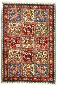 Bakhtiar Collectible Vloerkleed 107X155 Echt Oosters Handgeknoopt Donkerbruin/Beige (Wol, Perzië/Iran)