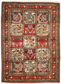 Bakhtiar Collectible Vloerkleed 105X148 Echt Oosters Handgeknoopt Donkergrijs/Bruin (Wol, Perzië/Iran)