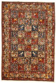 Bakhtiar Collectible Vloerkleed 209X304 Echt Oosters Handgeknoopt Donkerrood/Donkergrijs (Wol, Perzië/Iran)
