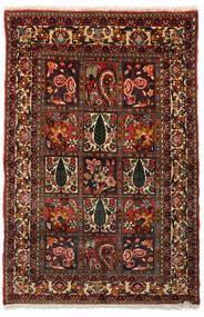 Bakhtiar Collectible Vloerkleed 99X151 Echt Oosters Handgeknoopt Donkerbruin/Donkerrood (Wol, Perzië/Iran)