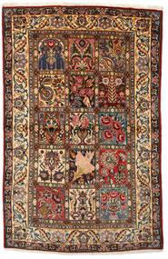 Bakhtiar Collectible Vloerkleed 108X170 Echt Oosters Handgeknoopt Donkerbruin/Donkerrood (Wol, Perzië/Iran)