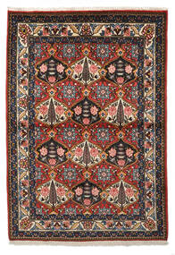 Bakhtiar Collectible Vloerkleed 105X150 Echt Oosters Handgeknoopt Donkerrood/Donkerbruin (Wol, Perzië/Iran)
