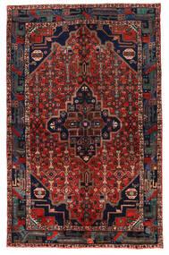 Koliai Vloerkleed 153X242 Echt Oosters Handgeknoopt Donkerrood/Donkerblauw (Wol, Perzië/Iran)