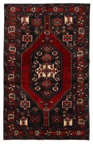 Bakhtiar Vloerkleed 132X210 Echt Oosters Handgeknoopt Donkerbruin/Donkerrood (Wol, Perzië/Iran)