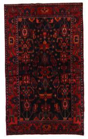 Koliai Vloerkleed 136X207 Echt Oosters Handgeknoopt Donkerrood/Roestkleur (Wol, Perzië/Iran)