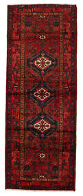 Hamadan Vloerkleed 108X290 Echt Oosters Handgeknoopt Tapijtloper Donkerrood/Donkerbruin/Roestkleur (Wol, Perzië/Iran)