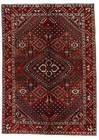 Bakhtiar Vloerkleed 142X200 Echt Oosters Handgeknoopt Donkerrood (Wol, Perzië/Iran)