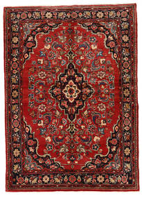 Mehraban Vloerkleed 149X208 Echt Oosters Handgeknoopt Donkerrood/Donkerbruin (Wol, Perzië/Iran)