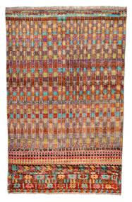 Moroccan Berber - Afghanistan Vloerkleed 110X177 Echt Modern Handgeknoopt Donkerrood/Rood (Wol, Afghanistan)