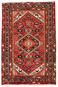 Hosseinabad Vloerkleed 67X100 Echt Oosters Handgeknoopt (Wol, Perzië/Iran)